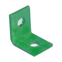 Alum Angle Brackets Green (10)