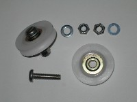Door Wheels Kit 38mm Pack 2