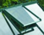 Halls Roof Vent for Popular & Supreme models Green Finish