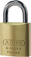 Abus 40mm Brass Padlock Twin pack