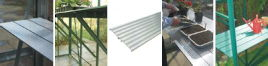 Diamond Aluminium Slatted Staging 8ft x 19in wide