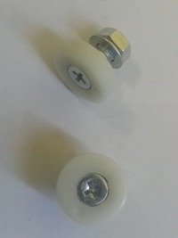 Edenlite 20mm Door Wheels - Pack 2