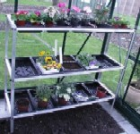 Halls 3 Tier Seed Tray Stand